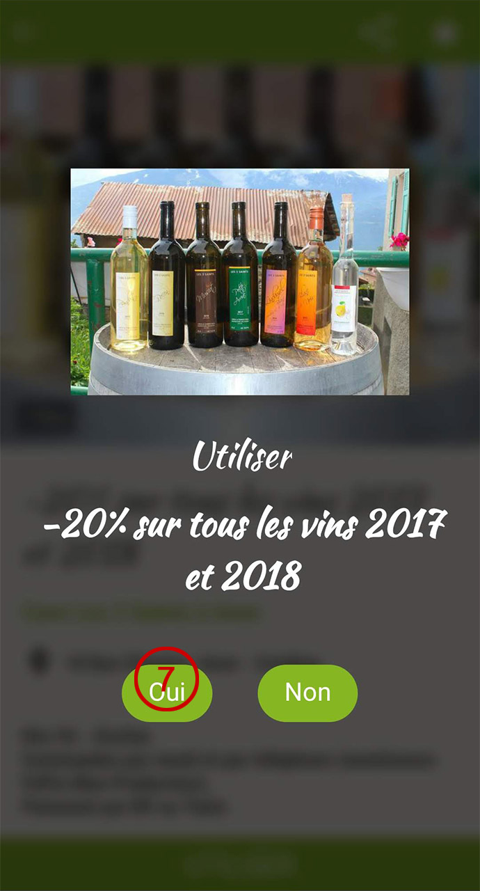 Utiliser le coupon de réduction